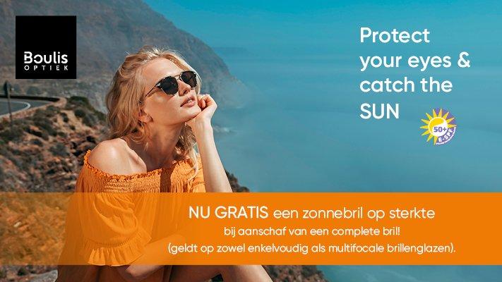 gratis zonnebril op sterkte